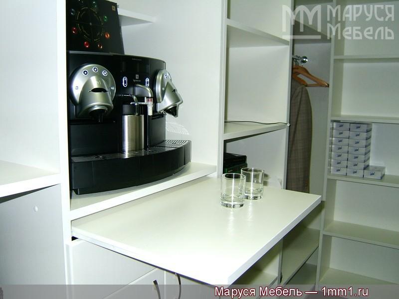 Дизайн углового гардеробного шкафа