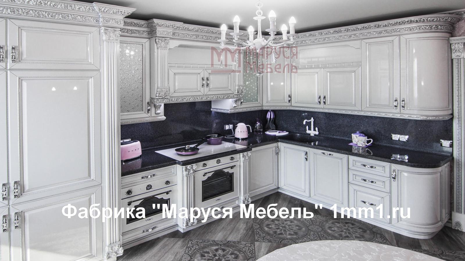 угловые кухни фабрика маруся мебель каталог угловых кухонь